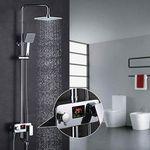 Homelody MJDRS01 – 3-Wege Duschsystem inkl Amatur mit LCD Anzeige für 107,99€ (statt 180€)