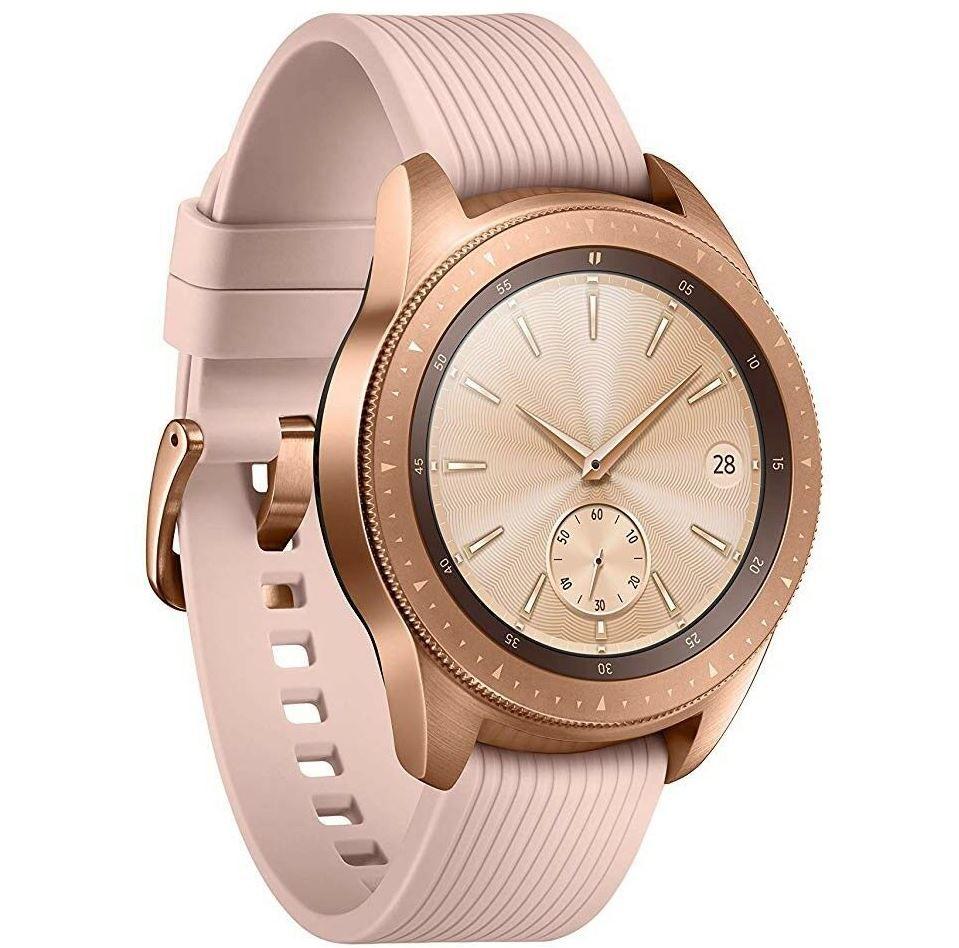 Samsung Galaxy Watch rosegold 42mm Smartwatch für 179,10€ (statt 221€)