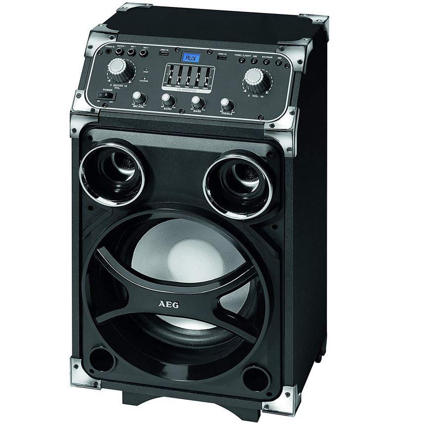 AEG EC 4829 Bluetooth Entertainment Center mit Akku u. Trolley für 99€ (statt 145€)