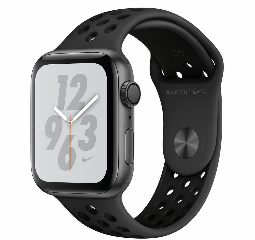 Apple Watch Series 4 Nike+ 44 mm Alu space grau für 399,90€ (statt 430€)
