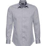 Yorn Herren-Business Langarmhemd (in 4 Farbvarianten) mit Kentkragen in Restgrößen ab 3,34€