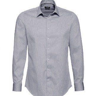 Yorn Herren Business Langarmhemd (in 4 Farbvarianten) mit Kentkragen in Restgrößen ab 3,34€