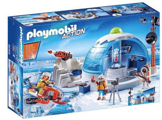 Playmobil Action   Polar Ranger Hauptquartier (9055) ab 8,49€ (statt 23€)