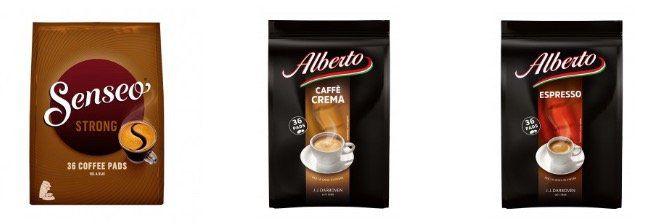 Kaffee Pads & Kapseln mit 15% Rabatt ab 30€ + VSK frei ab 50€