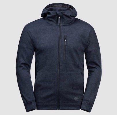Jack Wolfskin Riverland Hooded Fleecejacke für 58,87€ (statt 80€)   M, XL, XXL
