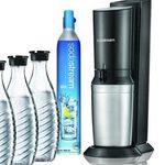 Abgelaufen! SodaStream Crystal 2.0 mit 4 Karaffen + 4 Gläsern für 105,90€