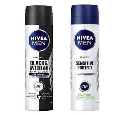 6er Pack Nivea Men Antitranspirant Deo ab 6,61€(statt 10€)
