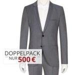 Hugo Boss Anzüge ab 220€ (statt 430€) oder Doppelpacks für 490€ bei Hirmer – teilweise nur noch Restgrößen