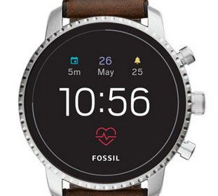 4. Gen. Fossil Smartwatches mit 30% Rabatt + 15% Gutschein   z.B. Q Explorist Leder für 166€ (statt 237€)