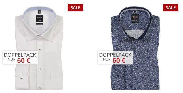 4er Pack Olymp Hemden für 110€ (statt 148€)