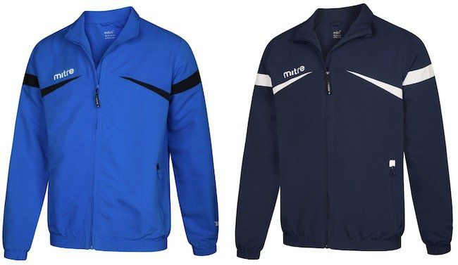MITRE Polarize Track Trainingsjacken für je 4,44€ + VSK (statt 14€)
