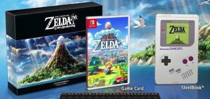 Ausverkauft! The Legend of Zelda: Links Awakening   Limitierte Edition (Nintendo Switch) für 79,99€ (statt 130€)