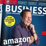 4 Ausgaben Focus Business für 26€ + 10€ Amazon Gutschein