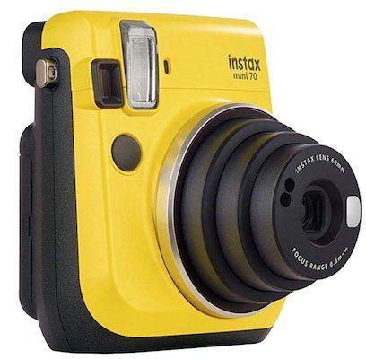 Fujifilm Instax Mini 70 Sofortbildkamera für 62,11€ (statt 88€)