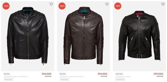 🔥 Premium Jacken Sale bei About You + bis 60% Rabatt + 30% Gutschein   z.B. JOOP! Lederjacke für 230,30€ (vorher 439€)