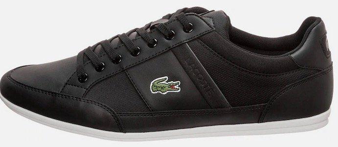 Lacoste Sneaker Chaymon in schwarz für 54,59€ (statt 84€)   durch 30% Gutschein auf Alles
