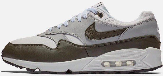 Nike Sneaker Air Max 90/1 in Grau Schwarz Weiß für 90,99€ (statt 136€)