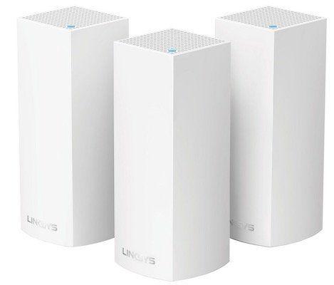 3er Pack Linksys VELOP AC6600 Mesh WLAN System für 255,90€ (statt 309€)
