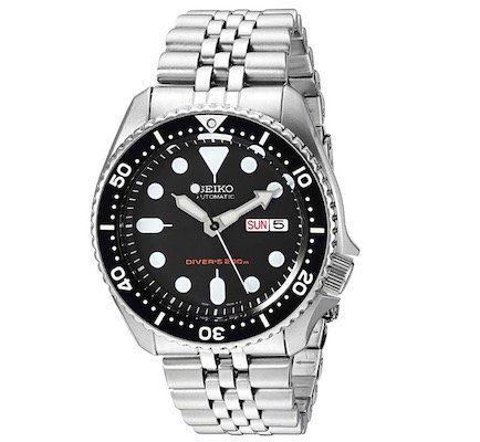 Seiko Automatic Divers SKX007K2 Herrenuhr für 254€ (statt 299€)