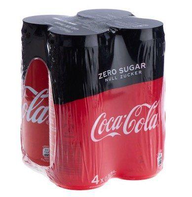 Ausverkauft! 72 Dosen Coca Cola Zero für 34,17€ inkl. Versand und Pfand (statt 52€)
