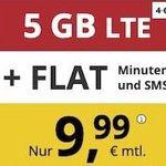 Bis Mitternacht: o2 Flat von PremiumSIM mit 5GB LTE für nur 9,99€ mtl. – monatlich kündbar!