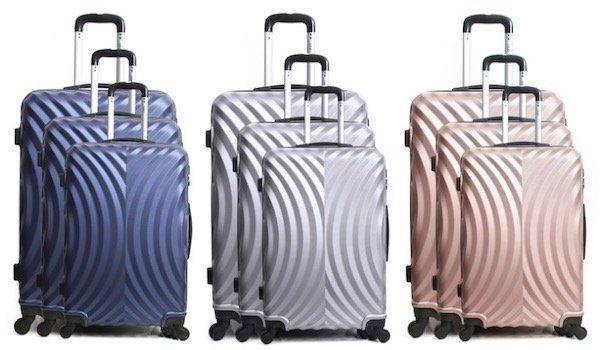 Hero Lagos Koffer Set mit 3 Koffern (31, 60, 91 Liter) für 89,79€ (statt 140€)