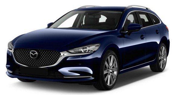 Mazda6 Kombi 2.0 Skyactiv G 145 Prime Line im Privat Leasing (48 Monate/20.000km p.a.) für 235€ mtl   LF 0,799