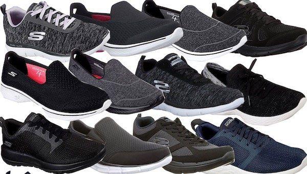 Skechers Damen und Herren Sneaker in versch. Ausführungen für je 34,90€
