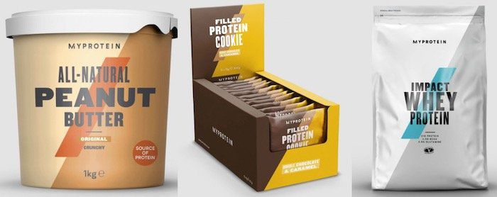 MyProtein Restposten + 30% Gutschein + VSK frei ab 50€   z.B. 1kg Peanut Butter ab 6€