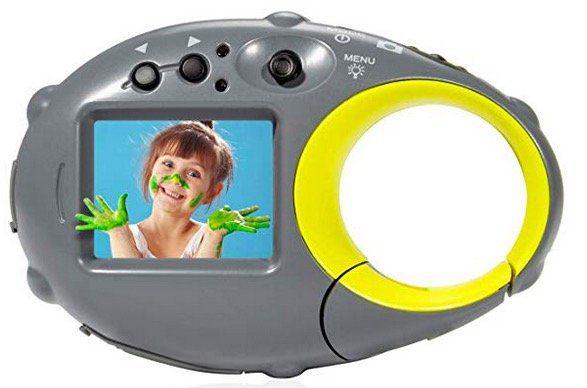 Kinderkamera mit Akku und 16GB Speicherkarte für 14,44€ (statt 29€)