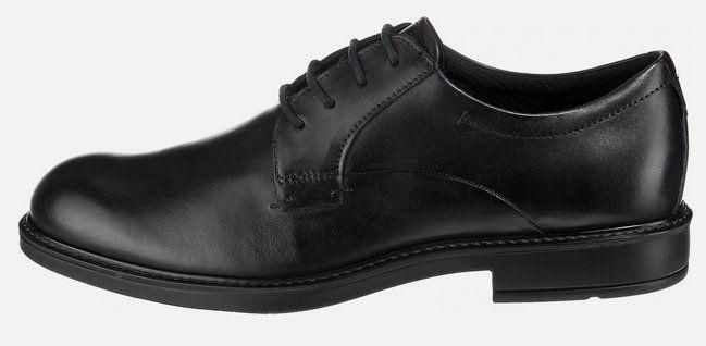 ECCO Herren Leder Schnürschuh in Schwarz in allen Größen für 44,19€ (statt 81€)