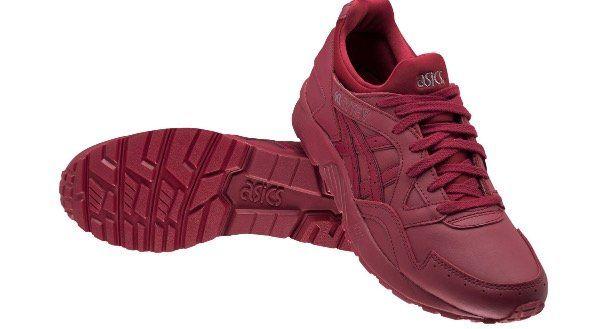 Asics Gel Lyte V Sneaker in Rot oder Blau für 43,94€ (statt 70€)
