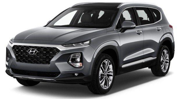 Gewerbe Leasing: Hyundai Santa Fe 2.4 GDI Premium mit 4WD und 185PS ab 198€ netto mtl.   LF 0,48