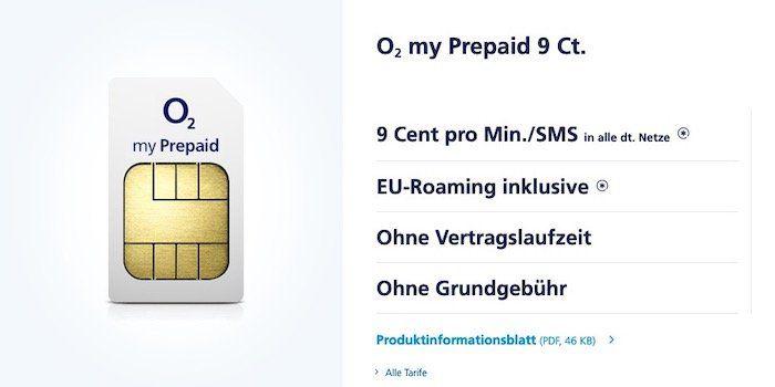 O2 Netz mal testen? Prepaid SIM im O2 Netz mit 1€ Guthaben kostenlos bestellen