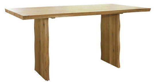 Rustikaler Massivholz Esstisch in Wildeiche (180x90x76 cm) für 111,30€ (statt 400€)