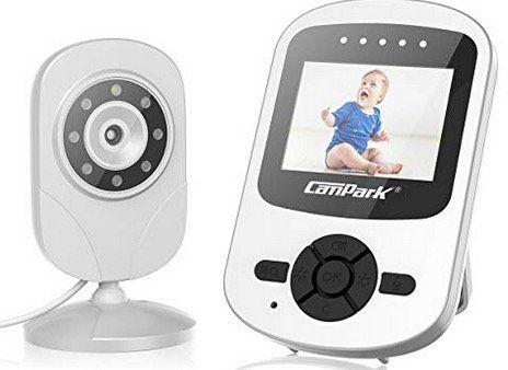 Campark Babyphone mit Kamera 2,4 GHz mit extra 2,4 Baby Monitor mit Nachtsicht für 41,99€ (statt 60€)