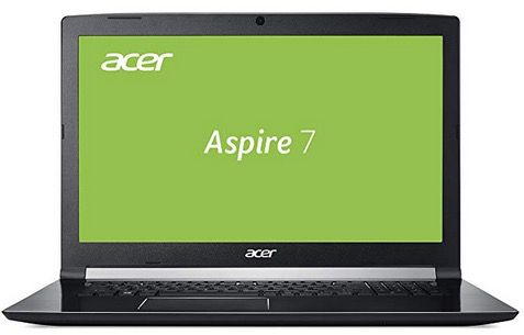 Acer Aspire 7 17,3 Full HD Notebook (Core i5, 8GB, 128GB SSD + 1TB HD, GTX1050 4GB) für 699€ (statt 899€)