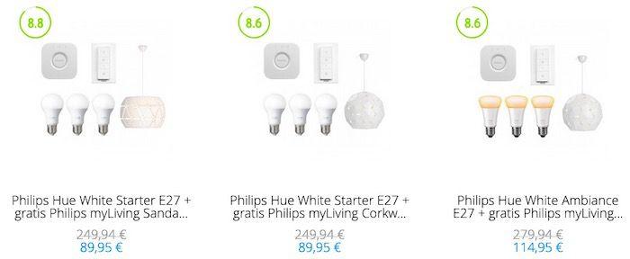 Tink: Philips Hue Artikel kaufen + Philips myLiving Pendelleuchte im Wert von 74€ geschenkt dazu
