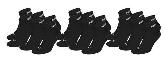 9er Pack Puma Unisex Quarter Clyde + 9er Pack HEAD Quarter Socken für 26,99€ (statt 37€)