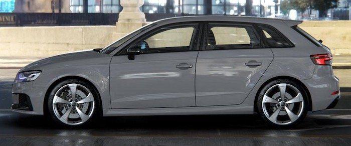 🔥 Audi RS3 Sportback S Tronic 400PS (48 Monate/10.000km p.J.) im Gewerbeleasing für 329,41€ netto   LF 0,7