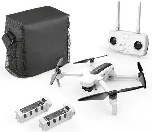 Hubsan H117S Zino UHD Drohne inkl. 2 Akkus + Tasche für 251,20€