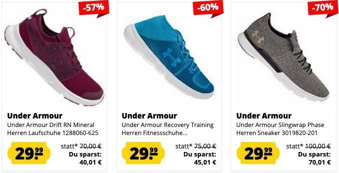 Under Armour Sale bei SportSpar   günstige Sneaker, Shirts, Jacken...