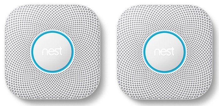 2x Nest Protect Rauch  und Kohlenmonoxidmelder (2. Generation) für 219€ (statt 246€)
