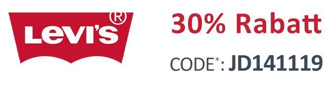 Jeans Direct: 30% Rabatt (MBW 40€) auf alles von Levi's   auch auf Sale