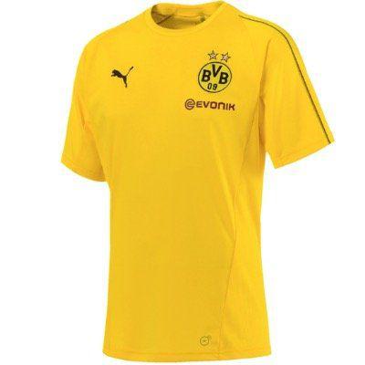 Borussia Dortmund BVB Herren Trainings Jersey in Gelb für 12,12€ (statt 24€)