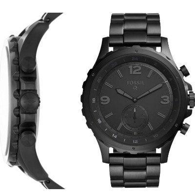 🔥 Fossil Q Nate Hybrid Smartwatch in Edelstahl 50mm für 85€ (statt 169€)
