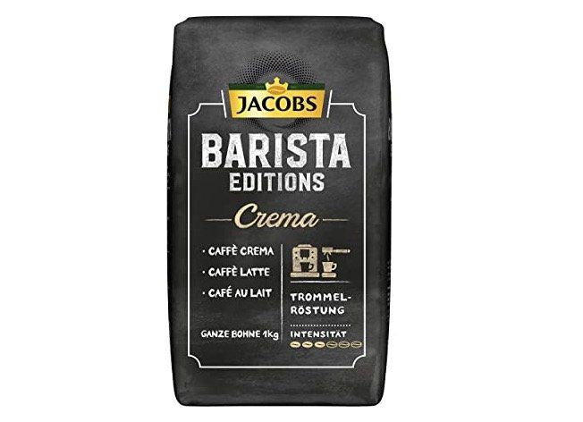 1kg Jacobs Barista Editions Kaffee Crema ganze Bohne ab 7,19€ (statt 15€)   Sparabo Prime