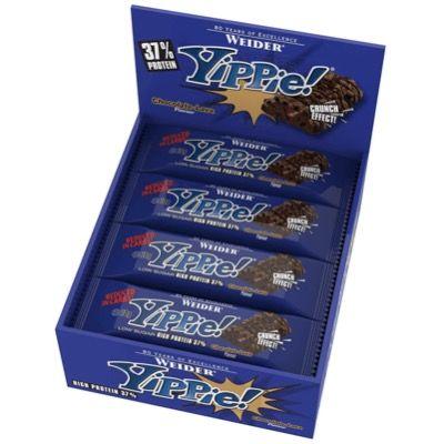 12er Pack Yippie! Bar Chocolate Lava oder Brownie Vanille für 17,99€ (statt 29€)