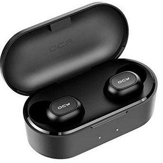 Homscam QCY Bluetooth inEar Kopfhörer 5.0 mit portablem Ladekästchen für 19,19€ (statt 32€)   Prime Versand