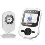 Campark Babyphone mit Kamera 2,4 GHz mit extra 2,4″ Baby-Monitor mit Nachtsicht für 41,99€ (statt 60€)